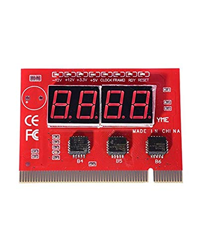 Ever Forever 4 Digit PC Diagnostic Analyzer Card Motherboard Tester