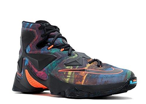 the latest 992ad 6d213 ... order basketball svart blå sporten orange svart blå lebron mann sko  lagune hyper størrelse xiii nike