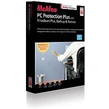 McAfee PC Protection Plus 2007 - Seguridad y antivirus (Caja, 1 usuario(s), 160 MB, 256 MB, Intel Pentium 500 MHz, Microsoft Windows 2000, Windows XP)