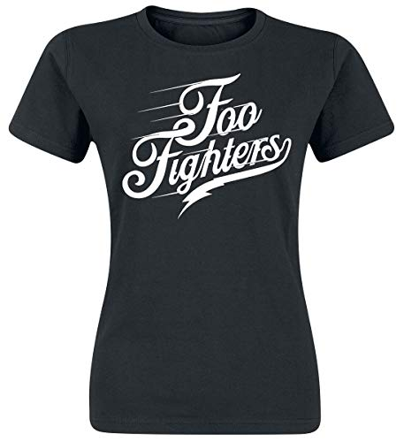 Foo Fighters Logo Camiseta Negro M