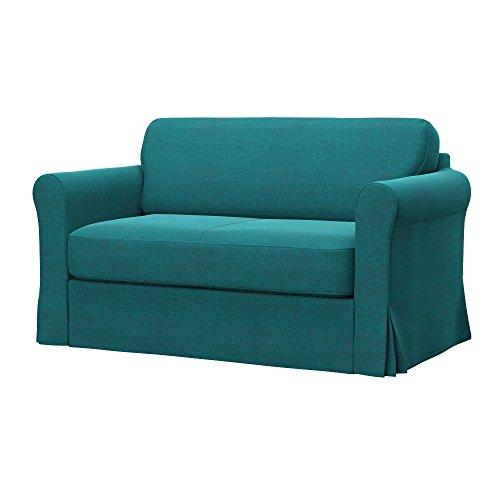 Soferia - IKEA HAGALUND Funda para sofá Cama, Classic Blue