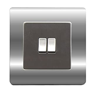 Single Light Switch Surround Acrylic Finger Plate Panel Socket - 59 COLOURS – 25% OFF WHEN YOU BUY 2 OR MORE