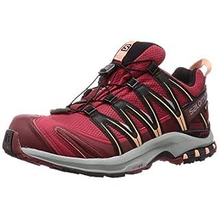 Salomon Damen Trailrunning-Schuhe, XA PRO 3D GTX W, Farbe: Rot (Deep Claret/Syrah/Coral Almond), Größe: 40 2/3