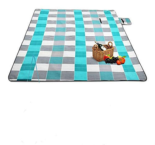 en Tragbarer Teppich Picknicktuch 200 X 200Cm ()