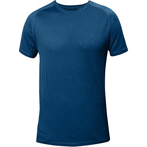 Fjällräven Herren Abisko Trail T-Shirt smoke blue