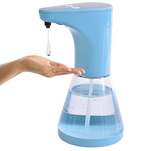 Dispensador Automático de Jabón, laamei Dispensador de Líquidos de Manos Libres, Inducción sin Contacto, Dispensador Bomba IPX2 Impermeable de Sanitizer Shampoo Loción