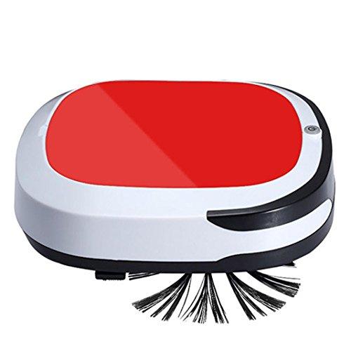 tpulling Schlanke intelligente kehr Robot aspirazione spazzatrice una Smart Home spazzatrice Aufla riutilizzabile intelligente aspirapolvere robot per pulizia del pavimento di auto senza fili trockener Nasser kehrender MOPP