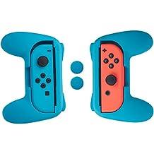 AmazonBasics - Schutzhüllen-Kit für Joy-Con-Controller für die Nintendo Switch, Blau