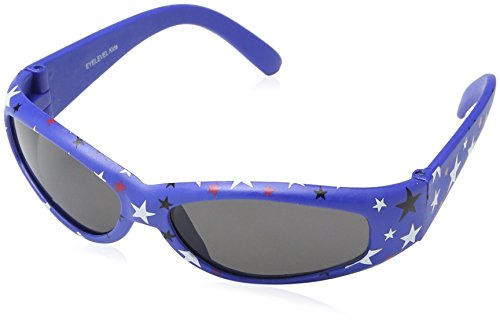 EYELEVEL Baby-Boys Pattern Tots Sunglasses, Blue, One Size