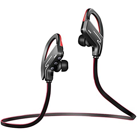 Cuffie Bluetooth V4.1 stereo Sport In-Ear cancellazione del rumore CVC 6.0 Wireless