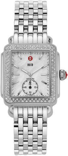 Michele Deco 16 Diamond Ladies Watch MWW06V000001 Wrist Watch (Wristwatch)