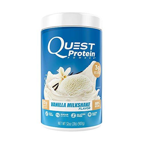 Quest Nutrition Protein Powder Vanilla Milkshake 907 Gramm (Protein Vanille-quest)
