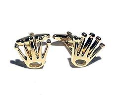 Idea Regalo - Proton Jewellers Gemelli Corona (Oro)