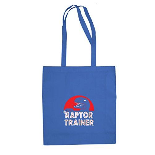 Raptor Trainer - Stofftasche / Beutel, Farbe: blau