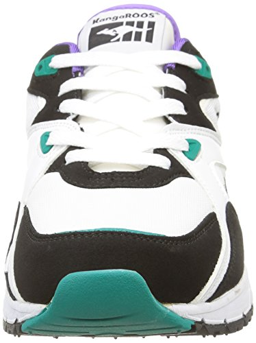 Kangaroos Runaway Roos 001, Herren Sneakers Mehrfarbig (white/smaragd 083)