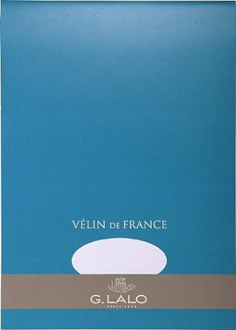 Papier A Lettre Correspondance - G.Lalo Papier à lettres en bloc Vélin