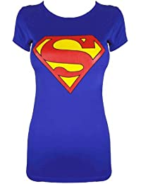 mymixtrendz - FEMMES SUPERMAN PRINT T-SHIRT