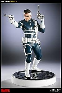 Sideshow Collectibles Nick Fury Polystone - Figura Decorativa