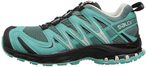 Salomon XA Pro 3D W, Zapatillas de Trail Running para Mujer, Azul (Horizon/Softy Blue), 41 1/3 EU