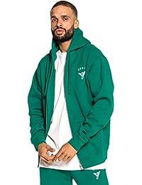 Grimey Sudadera Heritage Zipper Hoodie FW18 Green