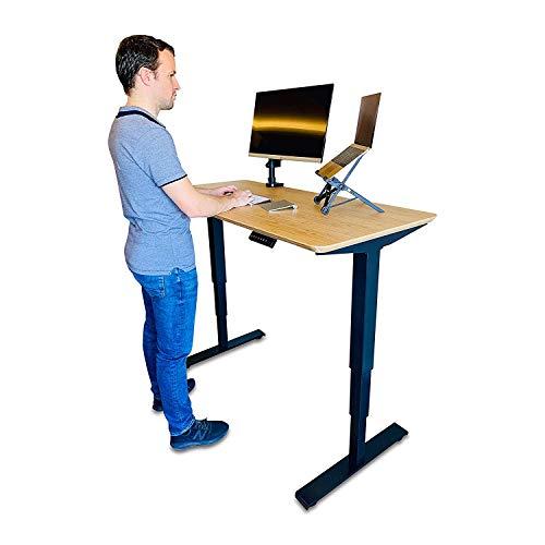EvoErgo Elektrisch höhenverstellbarer Schreibtisch Ergonomischer Steh-Sitz Tisch mit Memory...