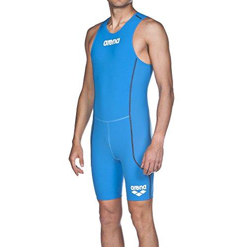 Arena M Trisuit St Rear Zip Bañador, Azul (Brilliant Blue), S