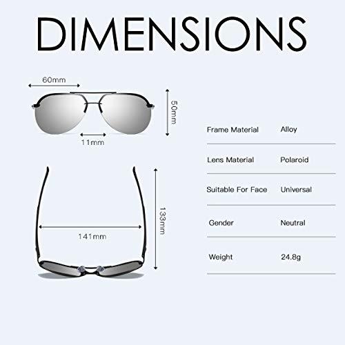 Zoom IMG-2 chereeki occhiali da sole uomo
