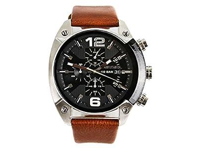 Diesel DZ4296 - Reloj cronógrafo de cuarzo para hombre, correa de cuero color marrón