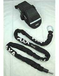 Axa Kettenschloss RLC 140 1400x5,5x5,5mm inkl. Tasche