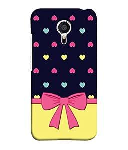 PrintVisa Be Still My Heart 3D Hard Polycarbonate Designer Back Case Cover for Meizu M2 Note :: Meizu Note 2