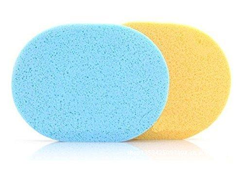 Seema Natural Seaweed Facial Cleaning Wash Pad Puff Sponge (Set Of 2)
