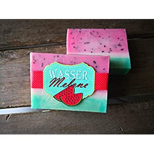 "5,43€/ 100g Melonenduftsseife""Wassermelone"""