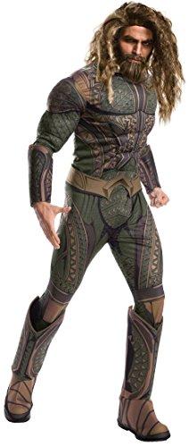 Kostüm Erwachsene Aquaman Für - Rubie's Offizielles Aquaman-Kostüm für Erwachsene, DC Warner Bros Justice League