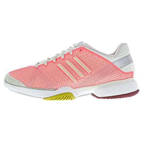 Adidas Barricade 8 Chaussures Stella Mccartney Womens Tennis (5, Poppy Rose / Poudre douce) Poppy Pink/Soft Powder/Red Zest