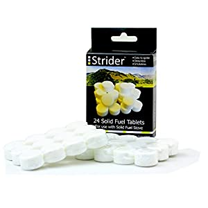 41onmAmVw5L. SS300  - Strider 24dry fuel tablets, refill pack for solid fuel stove, for camping and hiking