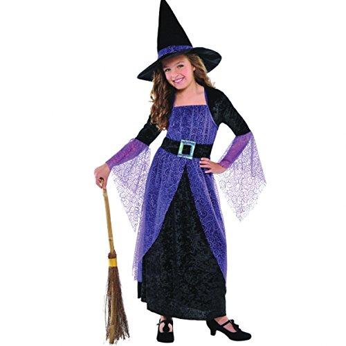 Besen Kostüm Halloween - Christy's Hexenkostüm für Mädchen, 8 -