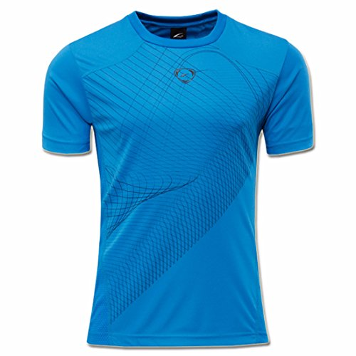 Men's Designer Casual Slim Fit Top Tee Shirt blue