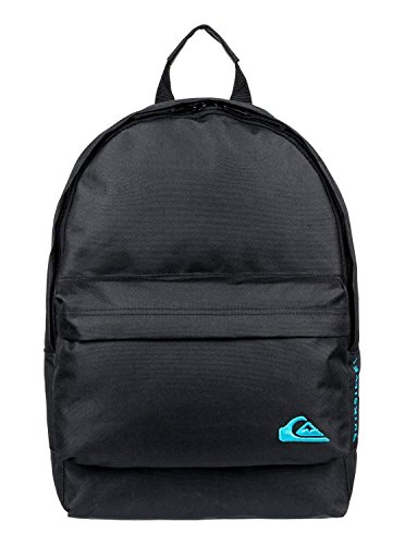 Quiksilver Small Everyday Edition, Zaino Uomo, Nero (Black), 40 Centimeters
