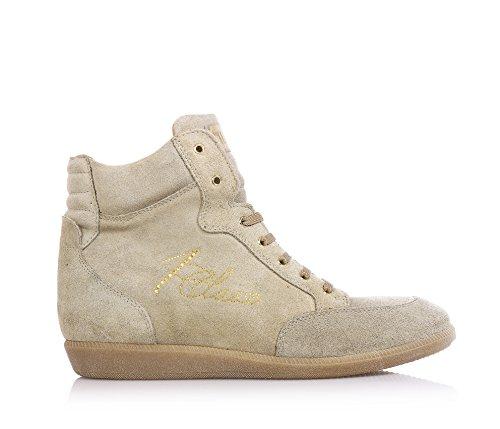 1^CLASSE - Sneaker beige, Donna, Bambina e Ragazze, Bambina-39