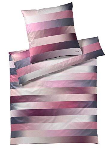 Joop! Bettwäsche Flow Satin pink Größe 135x200 cm (80x80 cm)