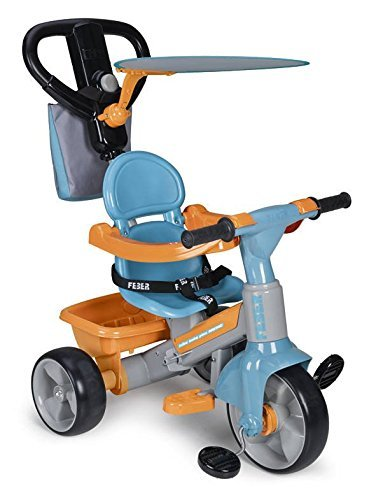 FEBER Tryke Baby Plus Music, Triciclo (Famosa 800009614)