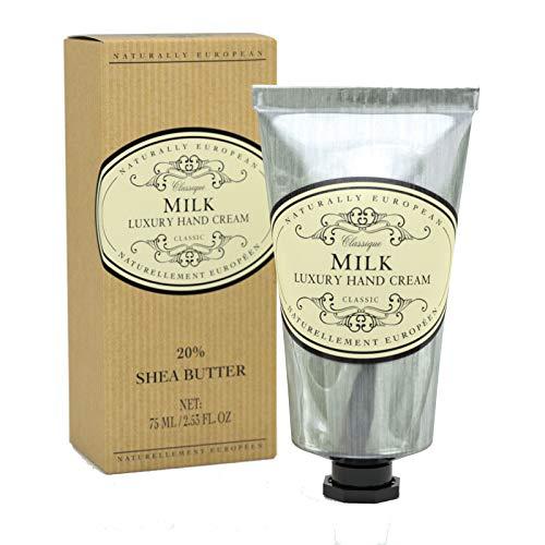 Natürlich europäischen Milk Luxus Hand- und Nagelcreme 75ml