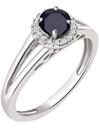 Silver Dew Black Stone Diamond Ring Gorgeous Gemstone Jewellery, Fashion ,Latest Design Ring For Women.