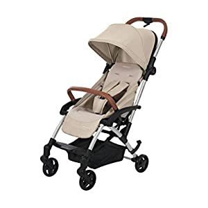 Maxi-Cosi Laika Baby Pushchair, Ultra Compact and Lightweight Stroller from Birth, Easy Fold, 0 Months-3.5 Years, 0-15 kg, Nomad Sand   15