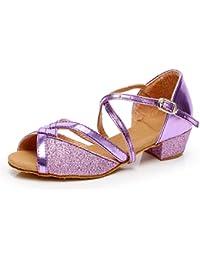 593d796bedfc3 Moonuy Chaussures de Danse Filles