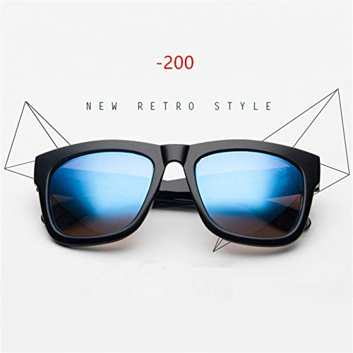 YOGER Sonnenbrillen Myopie Sonnenbrillen Männer Frauen Brillen Kurzsichtige Sonnenbrille Rezept -1,0-1,5-2,0-2,5-3,0-3,5-4,0
