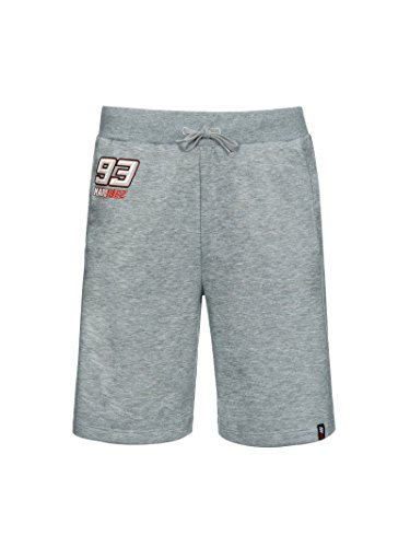 Marc Marquez 201893grau Schweiß Herren Shorts Honda MOTOGP Merchandise, grau, Mens (XXL) 94cm/37 inch Waist