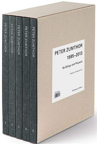 Peter Zumthor 1985-2013: Buildings and Projects (5 Vol Set)
