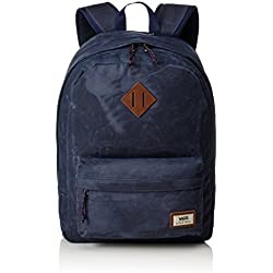 Vans Old Skool Plus Backpack Mochila, 44cm, 23L, Dress blaus Heather