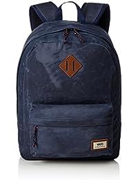 Vans Old Skool Plus Backpack Rucksack, 44 cm, 23 L, Dress blaus Heather